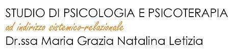 Studio di psicologia e psicoterapia Dr.ssa Maria Grazia Letizia