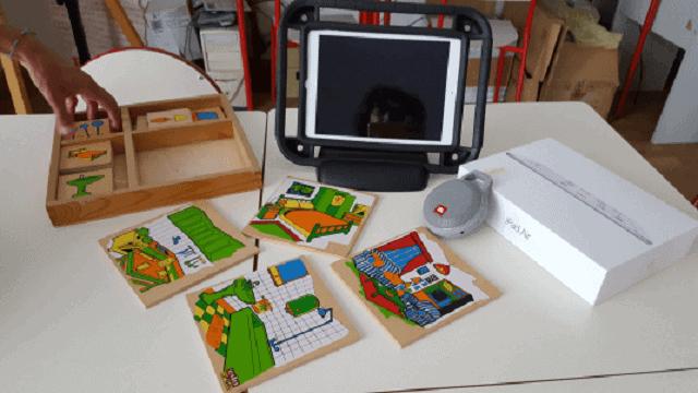 Costruzione personalizzata di ausili informatici su tablet